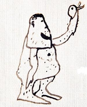 Titiritero solitrio. Pedro Figari. Historia Kiria 1930