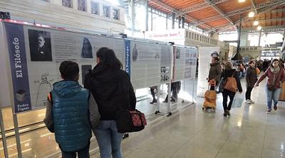 Exposición en el Mercado Agrícola de Montevideo