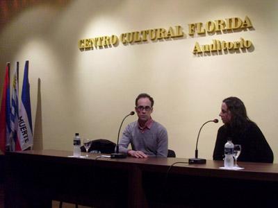 Paola Puentes y Gustavo Piegas