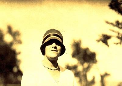 María Elena Figari. Ca 1920