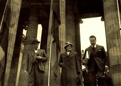 María Elena Figari en el Capitolio, Bogotá 1948