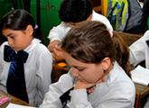 Escolares en el aula