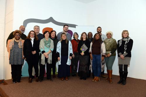 integrantes de la comisión y público en foto grupal