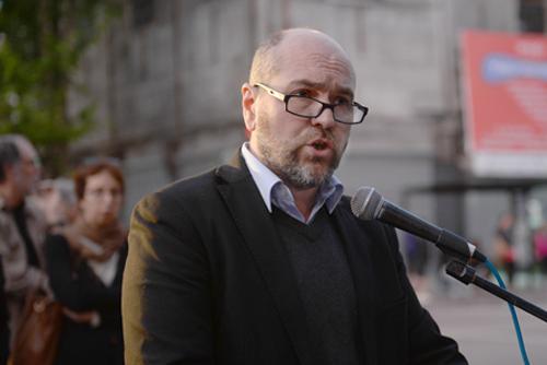 Nicolás Pons en su intervención.