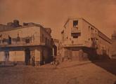 Mercado viejo de Montevideo. Copia fotográfica a la albúmina