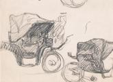 Juan Carlos Figari Castro. Bocetos de carruaje