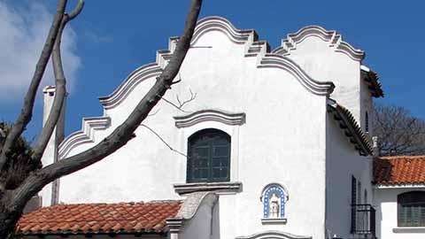 Fachada de la Casa Montero Bustamante