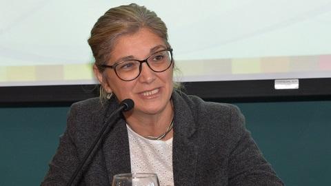 Rosita Inés Angelo hablando