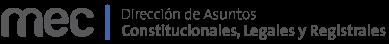 Logo Dirección de Asuntos Constitucionales