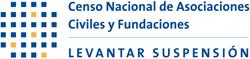 Censo Nacional de Asociaciones Civiles y Fundaciones levantar suspensión