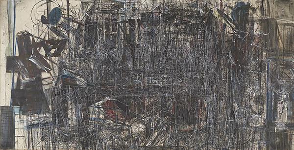 Eternidad. Técnica mixta, 156 × 306 cm 2003-2019