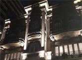 El museo iluminado