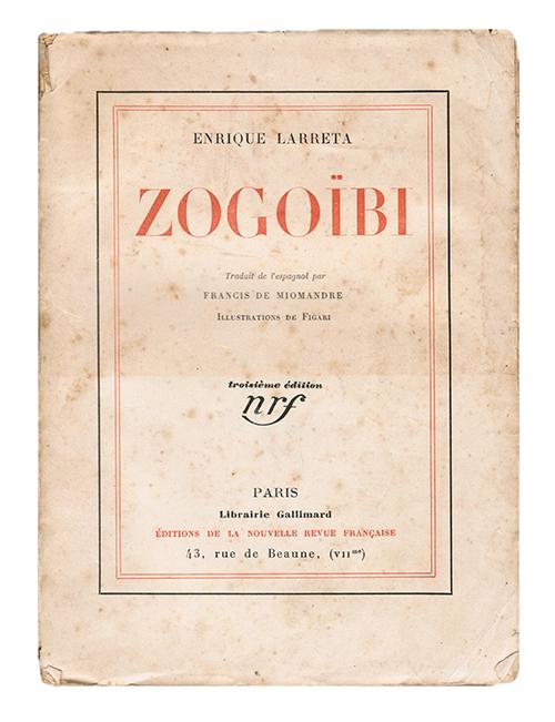 NovelaZogoïbi(1926)de Enrique Larreta