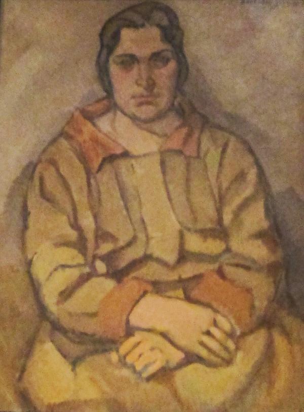 Rafael Barradas. óleo sobre tela de la serie Los magníficos.