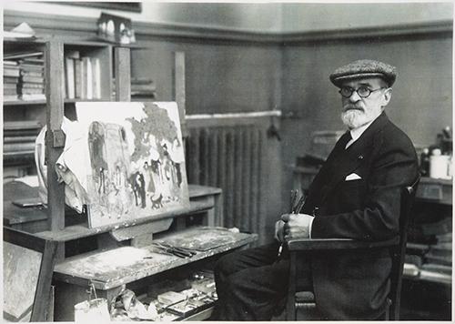 Pedro Figari en París 1927