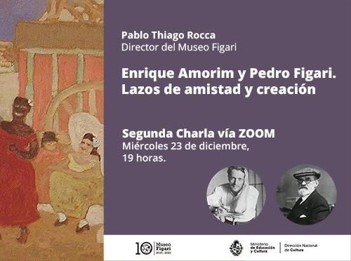 Segunda charla Amorim y Figari
