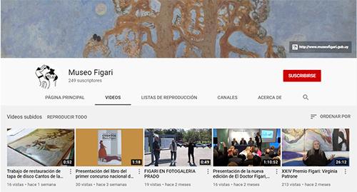 Canal de Youtube del Museo Figari