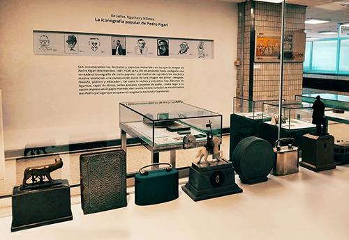 Nueva muestra de Figari en el Museo Numismático del BCU