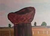 Daniel Lacerda. 8 años. Acrílico sobre lienzo