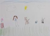 Nina Liniers. 6 años.