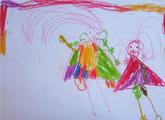 Eliana Hojman. 4 años.