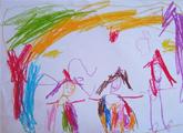 Emilia Peirano. 4 años.