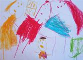 Pierina Vidigh. 4 años.