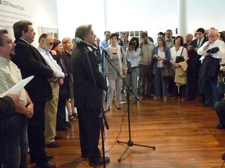 Presentación del Premio Figari