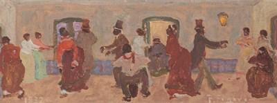 Pedro Figari. Bailando
