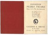 Catálogo Exposición Figari  1923