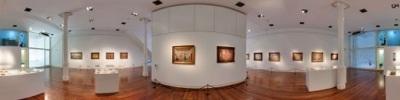 Paneo 360 de la sala del Museo Figari