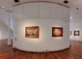 Paneo 360 grados de la sala del Museo Figari