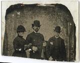 Retrato de Pedro Figari, María de Castro y Carlos de Castro