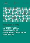 Aportes para la Elaboración de Propuestas de Políticas Educativas