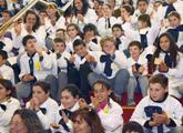 Niños en Auditorio del Sodre