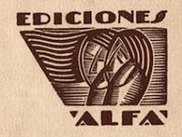 Logo de ediciones Alfa