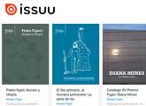 toma de pantalla de la web de Issuu