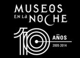 Logo de Museos en la noche 10 años