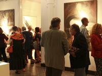 Exposición Margaret Whyte en primer piso