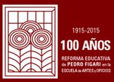 logo 100 años de Figari en la ENAO