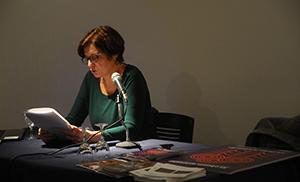 Inés Moreno durante su conferencia