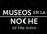 logo museos en la noche