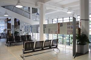 Hall de la Facultad de Ciencias Sociales