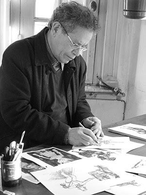 Domingo Ferreira trabajando