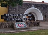 Placa en Batallón Ituzaingó