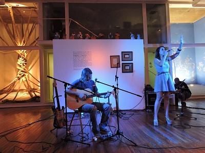 Alemany y Sapin en Museos en la Noche 2016